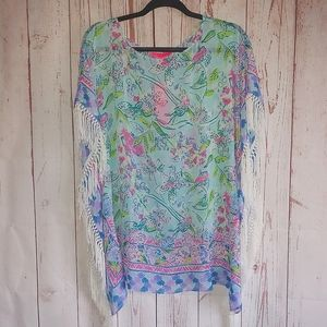 Lilly Pulitzer Ginette Cover-Up Size XS